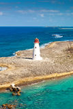 Lighthouse. Old lighthouse that sits at the tip of Paradise Island in Nassau, Bahamas Royalty Free Stock Photos