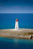 Lighthouse. Old lighthouse that sits on the tip of Paradise Island in Nassau, Bahamas Stock Photography