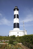 Lighthouse on Oleron island. French lighthouse north of the island of Oléron royalty free stock photography