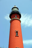 Lighthouse One. Photo of Ponce Inlet Lighthouse, Florida Stock Image