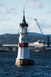 Lighthouse in Oslo Royalty Free Stock Photography