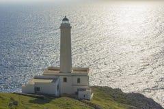 Lighthouse of Otranto Stock Image