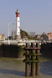 Lighthouse of Ouistreham in France Royalty Free Stock Photo