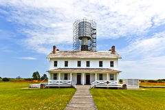 Lighthouse in the outer banks royalty free stock photography