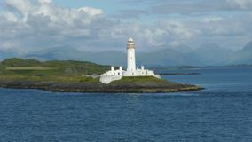 Lighthouse outside Oban Royalty Free Stock Photo