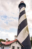 Lighthouse. Outside photo of an operating lighthouse Royalty Free Stock Photography