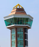 The lighthouse. In Pa Sak Jolasid Dam Stock Photos