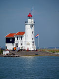 Lighthouse Paard van Marken Royalty Free Stock Image