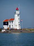 Lighthouse Paard van Marken Royalty Free Stock Image