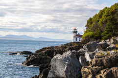 Lighthouse in the Pacific Northwest Stock Images