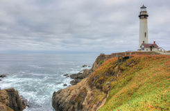 Lighthouse on the Pacific Ocean, California, USA Royalty Free Stock Images