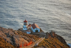 Point Reyes Lighthouse, California. Stock Photo