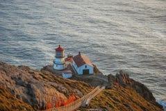 Point Reyes Lighthouse, California. Stock Photo