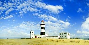 Lighthouse panorama Royalty Free Stock Photos
