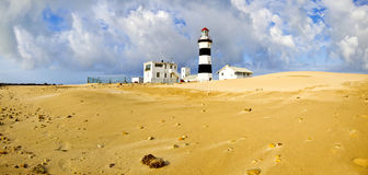 Lighthouse panorama Stock Image