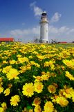 Lighthouse in Paphos Royalty Free Stock Photography