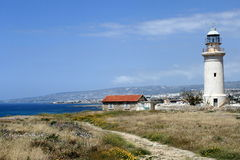 Lighthouse in Paphos Stock Photos