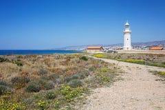 Lighthouse at Paphos, Cyprus Stock Photos