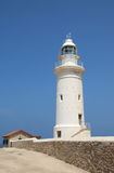 The lighthouse. Paphos, Cyprus Royalty Free Stock Photos