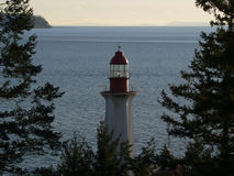 Lighthouse Park, West Vancouver, BC Royalty Free Stock Photo