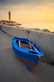 Lighthouse in Patras. Stock Image