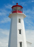 Lighthouse at Peggy's Cove Royalty Free Stock Photo