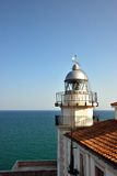 Lighthouse of Peniscola Royalty Free Stock Photography