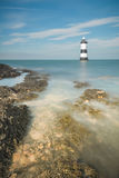 Lighthouse at Penmon Royalty Free Stock Image