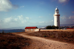 Lighthouse in Phapos Stock Photography