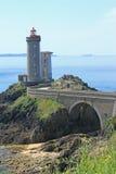 Lighthouse Phare du Petit Minou, France Royalty Free Stock Images