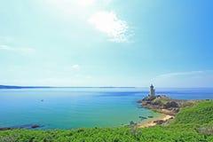 Lighthouse Phare du Petit Minou, France Stock Photo