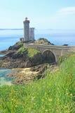 Lighthouse Phare du Petit Minou, France Stock Photos
