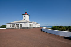 Lighthouse in pico island - Azores Royalty Free Stock Images