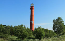 Lighthouse. A picture of lighthouse. Picture was made in Paldiski (Estonia Royalty Free Stock Photos