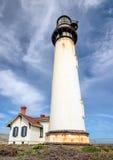 Lighthouse Pigeon Point, California Stock Photo