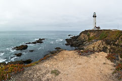 Lighthouse at Pigeon Point Royalty Free Stock Photo