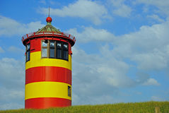 Lighthouse Pilsum Royalty Free Stock Images