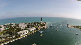 Lighthouse Point, Hillsboro Inlet Florida Royalty Free Stock Image