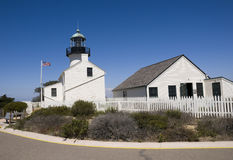 Lighthouse at Point Loma Royalty Free Stock Photo