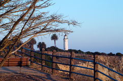 Lighthouse at Point Vicente Interpretive Center Stock Images