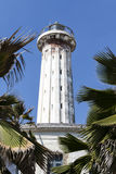 Lighthouse in Pondicherry (Puducherry) in Tamil Nadu, South India Royalty Free Stock Photo