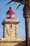 Lighthouse of Ponta da Piedade, Algarve Royalty Free Stock Images