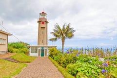 Lighthouse Ponta de Sao Jorge, Μαδέρα Στοκ Εικόνες