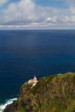 The Lighthouse Ponta do Arnel near Nordeste town in Sao Miguel Stock Photography
