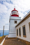 Lighthouse Ponta do Pargo stock afbeeldingen
