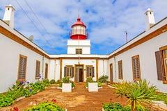 Lighthouse Ponta do Pargo Στοκ Εικόνες