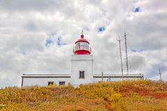 Lighthouse Ponta do Pargo Stock Photography