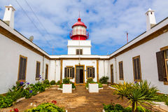 Lighthouse Ponta do Pargo Stock Image