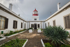 Lighthouse of Ponta do Pargo, Madeira, Portugal Stock Photos