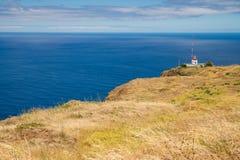Lighthouse on Ponta do Pargo Stock Photography